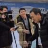 〈平昌五輪〉総聯同胞応援団が南朝鮮に到着