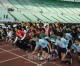 寒気を吹き飛ばす熱戦/大阪同胞学生駅伝・マラソン大会、老若男女が力走
