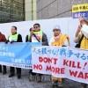 合同軍事演習中止と朝米交渉求める/東アジア市民連帯が米大使館に要請活動