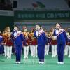 〈平昌五輪〉北側応援団、江原道・原州で最終公演