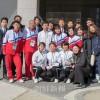 〈平昌五輪〉総聯同胞応援団が選手村を訪問/北の選手たちを激励