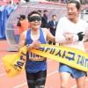 誇り胸に駆け抜けた平壌/万景台賞マラソンの出場者たち
