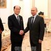 金永南委員長がプーチン大統領と会見/W杯開会式にも参加