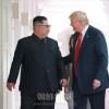"""""""偉大な人格、聡明な指導者""""/トランプ大統領、金正恩委員長への強い信頼明かす"""