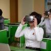 平壌教員大学の最新式実技室/バーチャル授業でリアルなレッスン