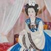 〈ものがたりの中の女性たち 14〉美人皇帝の顔が舞台、口紅、おしろいなどコスメ十五臣が活躍/女容國傳