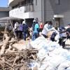 〈西日本豪雨〉広島でも被害/広島朝高生が被災地で活動
