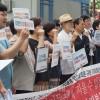 朝鮮学校生徒への蛮行を糾弾/南の市民団体が記者会見