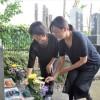 〈関東大震災95周年〉統一祖国に魂を、墓前に誓う/埼玉・さいたま市 常泉寺