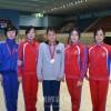 共和国選手権で2つの金/長野初中の李慧京さん、水泳で