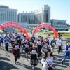 平壌で秋季アマチュアマラソン大会/各国ランナーが健脚競う