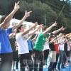 「レールウェイ!」の歌響き/高麗神社で朝・日友好願い野遊会開催