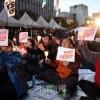 キャンドルデモから2周年/ソウルで集会