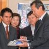 日教組の中央委が東京中高を訪問