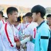 南江原道でU15国際サッカー大会/4.25体育団が5連覇