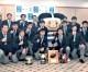 期待に応えて優勝を/大阪朝高ラグビー部、東大阪市長を表敬訪問