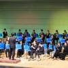多彩な曲で観客を魅了/広島初中高吹奏楽部、第39回定期演奏会