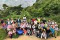 自然に囲まれリフレッシュ/大阪同胞春のハイキング