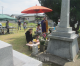 「共生の社会を」/福岡・桂川町で徳香追慕碑供養38年祭