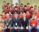 〈6人制混合バレーボール世界大会・1日目〉同胞選抜チームが出場、朝鮮国旗を胸に貴重な1勝