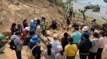 歴史を発掘するという作業/沖縄・本部町健堅の遺骨共同発掘作業に参加して
