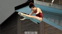 〈朝鮮のトップアスリートたち 9〉キム・ミレ/女子ダイビング