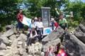 結成記念日にゆかりのある山へ/群馬登山協会