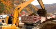 朝鮮東部で復旧続く/年内の完工目標に