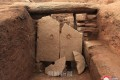 高句麗壁画古墳を発掘/南浦市龍岡郡で