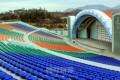 沙里院市に青年野外劇場が竣工/今年、朝鮮各地に続々