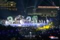 2021年新年祝賀公演、金日成広場で