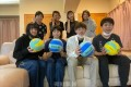 同胞選抜チームが出場/混合バレーボール選手権全国大会、21日に沖縄で