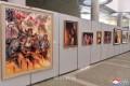 全国新人美術展覧会/平壌の玉流展示館で