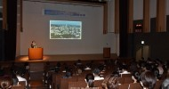中大阪ハッキョチャリティ講演会、143人で盛況/東成青商会が主催