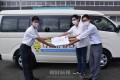 創立75周年を迎える千葉初中に通学バスを寄贈/5年かけ朝青世代が尽力