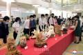 全国彫刻・工芸祭典が開幕/朝鮮創建73周年に際し