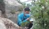 固有種と危惧種を観察/九月山生物圏保護区で現地調査