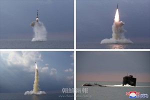 制御誘導技術が導入された新型SLBM試射