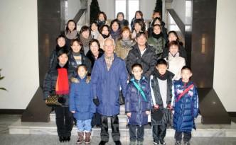 일본각지에서 온 학부모들