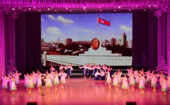 2016년 설맞이공연 《세상에 부럼없어라》가 1일 만경대학생소년궁전에서 진행되였다.(조선중앙통신)