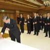 김정일장군님께 심심한 조의를 표시하는 의식 조선회관에서 엄숙히 거행