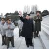 김정은최고사령관, 설명절에 즈음하여 만경대혁명학원을 방문