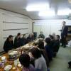 교또 니시징 가시와노분회, 개수된 사무소에서 합동신년모임