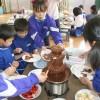 군마청상회, 학생들을 위해 급식 마련, 료리에 쏟아지는 사랑의 맛