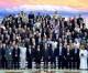 김영남위원장이 주체사상연구조직대표단, 대표들, 국제기구대표들을 만났다