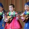 전국유치원어린이들의 종합예술공연 진행