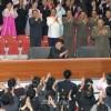 김정은제1위원장께서 조선인민군교예단 대형요술공연 관람