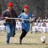 봄축전참가자들이 유희경기