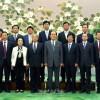 중국국제우호련락회친선대표단이 조선을 방문