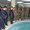 김정은제1위원장, 대관유리공장과 허철용동무가 사업하는 기계공장을 현지지도